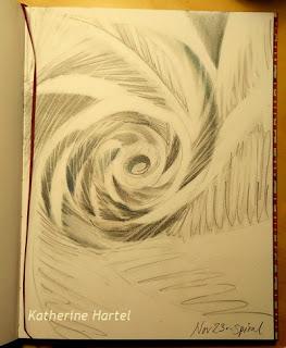 November 23 ~ Spiral Doodle