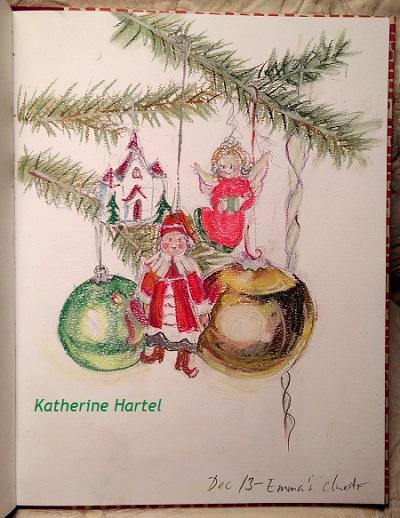 December 13 ~ Tree Decorating 101