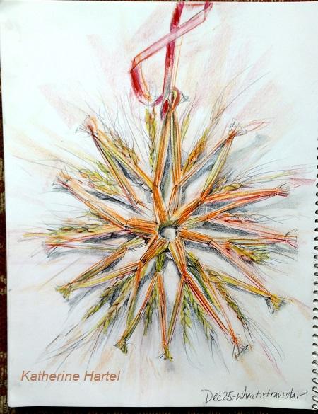 December 25 ~ Wheat Straw Star