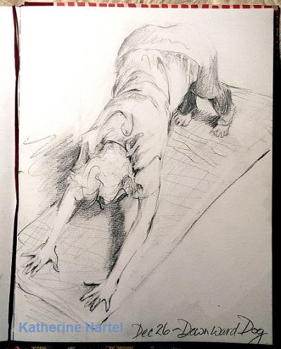 December 26 ~ Downward Dog