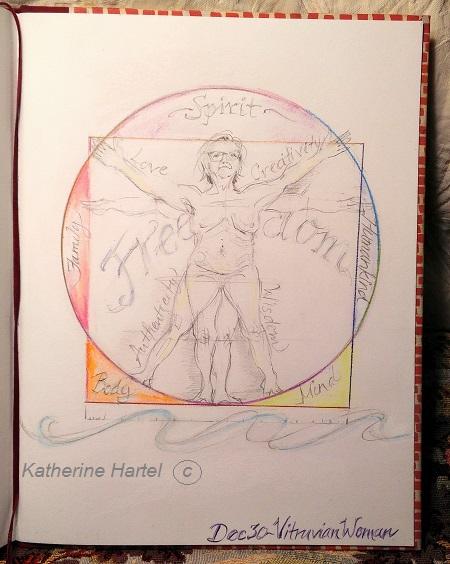 December 30 ~ Vitruvian Woman