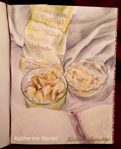November 30 ~ Chips & Dip… In Bed